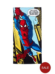 spiderman-webhead-towel