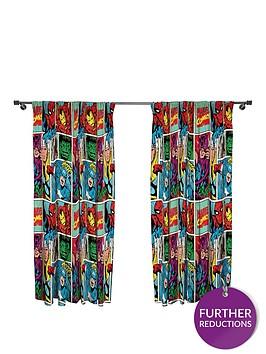 marvel-comic-strike-pleated-curtains