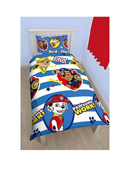 paw-patrol-pawsomenbspreversible-single-duvet-cover-and-pillowcase-set