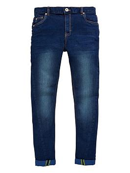 V By Very Boys Twisted Tapered Indigo Jeans