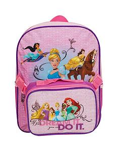 disney-princess-backpack-with-lunchbag
