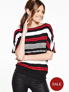 v-by-very-banded-hem-oversized-stripe-top
