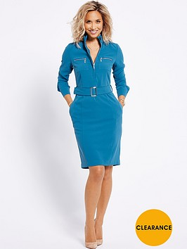 myleene-klass-zip-front-shirt-dress