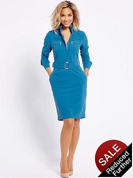 myleene-klass-zip-front-shirt-dress