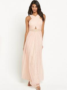 little-mistress-cross-over-embellished-maxi-dress-nude