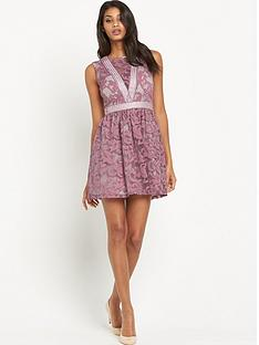 little-mistress-lace-skater-dress-rose