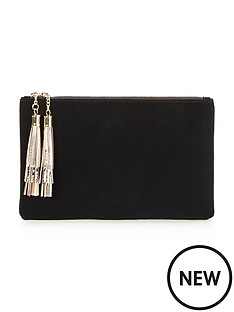v-by-very-tassel-clutch-bag
