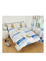 Patch Double Duvet Cover and Pillowcase Set