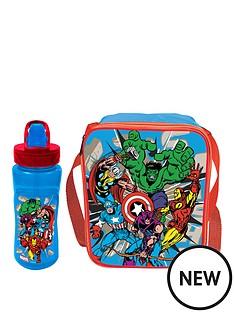 the-avengers-marvel-comics-lunch-bag-amp-bottle-set