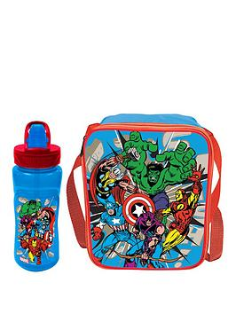 the-avengers-marvel-comics-lunch-bag-amp-bottle-set