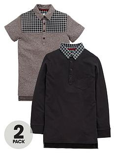 v-by-very-boys-smart-check-polo-shirts-2-pack