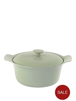 berghoff-ron-24cm-cast-iron-casserole-dish-with-lid-in-sage