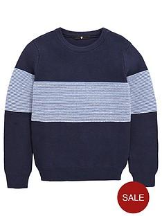 v-by-very-boys-knitted-crew-neck-stripe-jumper