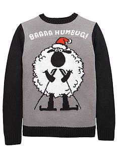 v-by-very-boys-christmas-baaaanbsphumbug-jumper