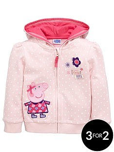 peppa-pig-girls-zip-thru-hoody