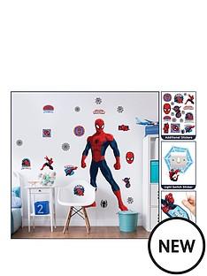 marvel-marvel-spiderman-large-character-room-sticker-kit