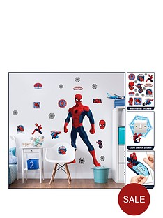 marvel-marvel-spiderman-large-character-room-sticker-kit