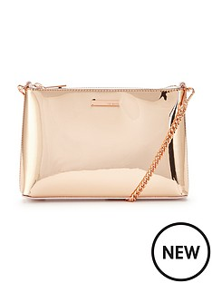 ted-baker-metallic-shoulder-chain-clutch