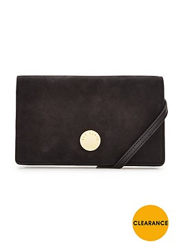 ted-baker-suede-metal-detail-shoulder-strap-clutch-black