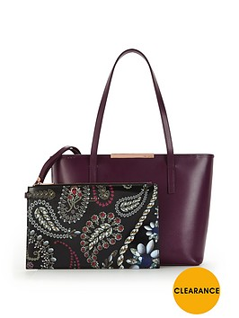 ted-baker-small-crosshatch-shopper-with-inner-purse-deep-purple