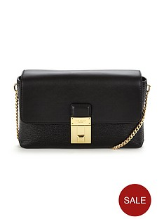 ted-baker-leather-lock-detail-chain-strap-bag-black