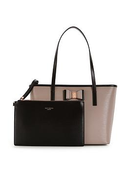 ted-baker-small-bow-detail-shopper-with-inner-purse-pouch-mink