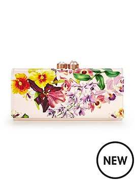ted-baker-large-floral-clasp-top-matinee-purse-nude-pink