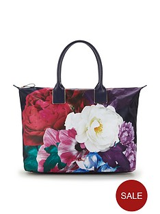ted-baker-ted-baker-large-placement-print-floral-nylon-weekender