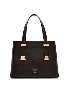 ted-baker-small-leather-structured-tote