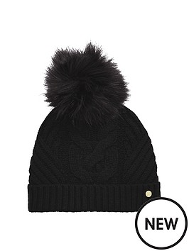 ted-baker-cable-knit-pom-pom-hat