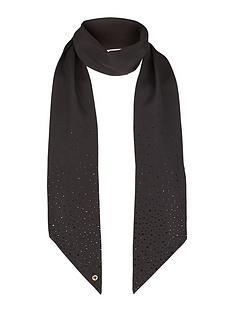 ted-baker-skinny-silk-scarf-black
