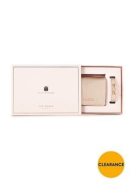 ted-baker-mini-purse-amp-bow-braceletnbspgift-set-rose-gold
