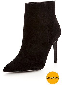 warehouse-suede-ankle-boot-black