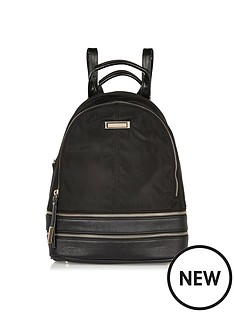 river-island-river-island-nylon-backpack