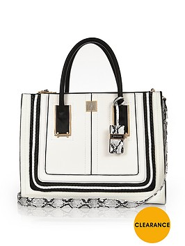 river-island-structured-roping-tote-bagnbsp