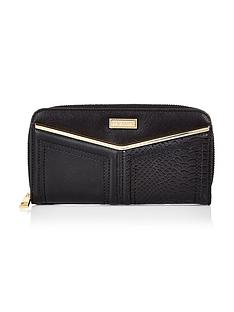 river-island-v-bar-zip-around-purse