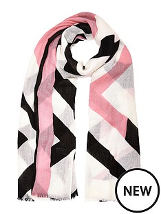 river-island-river-island-geo-print-scarf
