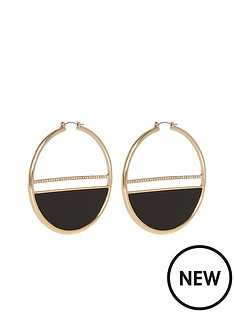 river-island-glam-statement-hoop-earring