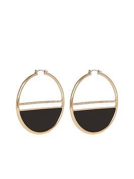 river-island-glam-statement-hoop-earring