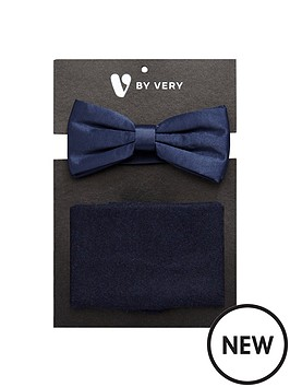 v-by-very-mens-bow-tie-and-pocket-scarf-set