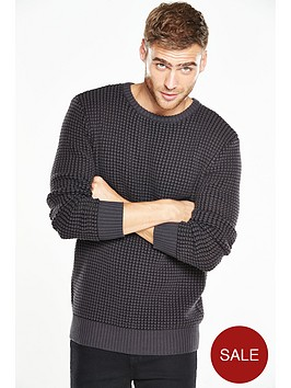 v-by-very-3d-waffle-crew-neck-jumper