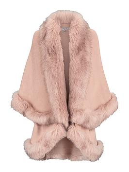 coast-kaite-faux-fur-cape