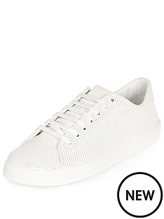 river-island-perforated-trainer-shoe