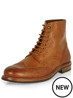 river-island-river-island-brogue-military-boot