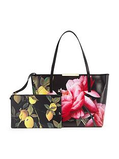 ted-baker-citrus-bloom-leather-shopper