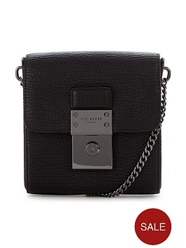 ted-baker-luggage-lock-leather-crossbody-bag