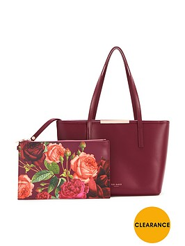 ted-baker-small-croshatch-shopper