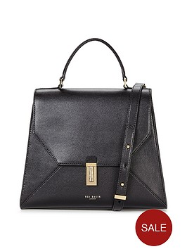 ted-baker-caviar-leather-top-handle-tote-bag