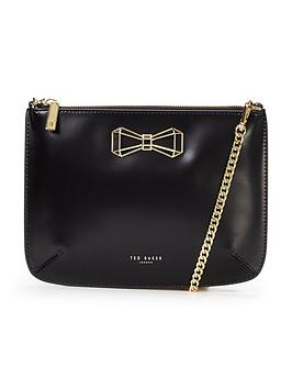 ted-baker-geometric-bow-leather-crossbody-bag