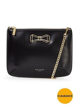 ted-baker-geometric-bow-leather-crossbody-bag